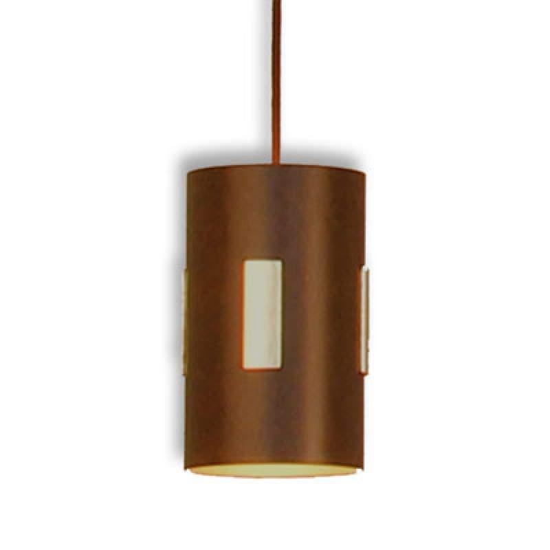 Solo - hanglamp versierd met bladgoud