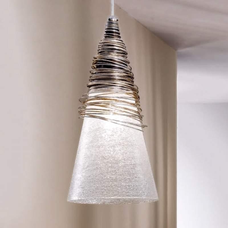Fraai vormgegeven hanglamp SIBERIA