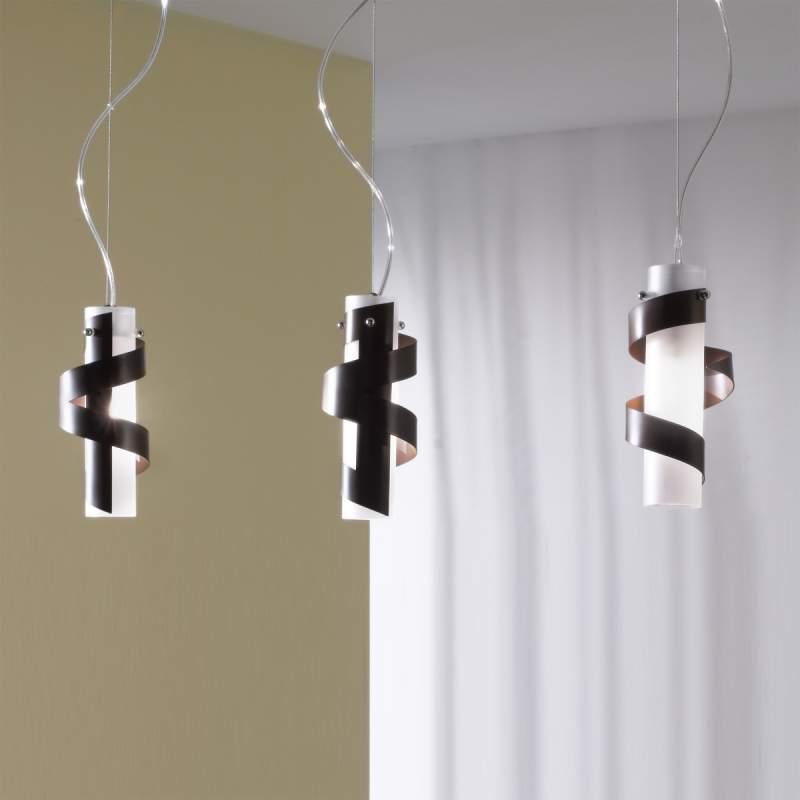 Roestbruine hanglamp Phoenix