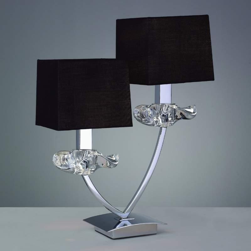 Decoratieve tafellamp AKIRA, 2-lichts