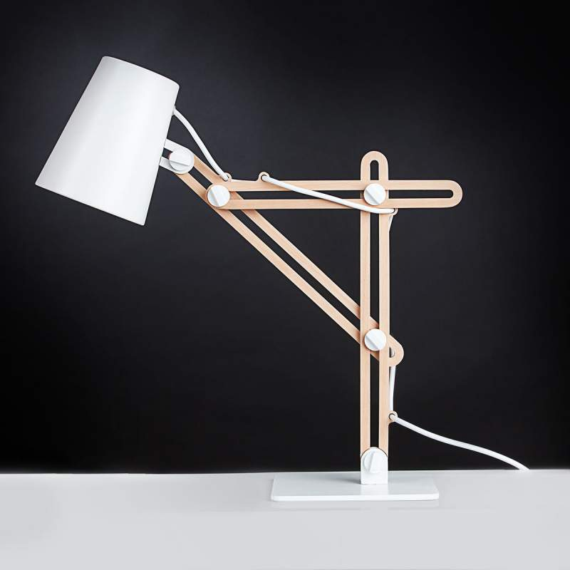 Veelzijdige bureaulamp Looker