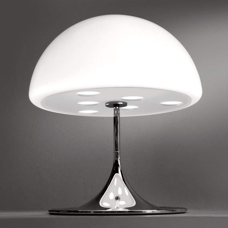 MICO betoverende tafellamp, 60 cm, wit