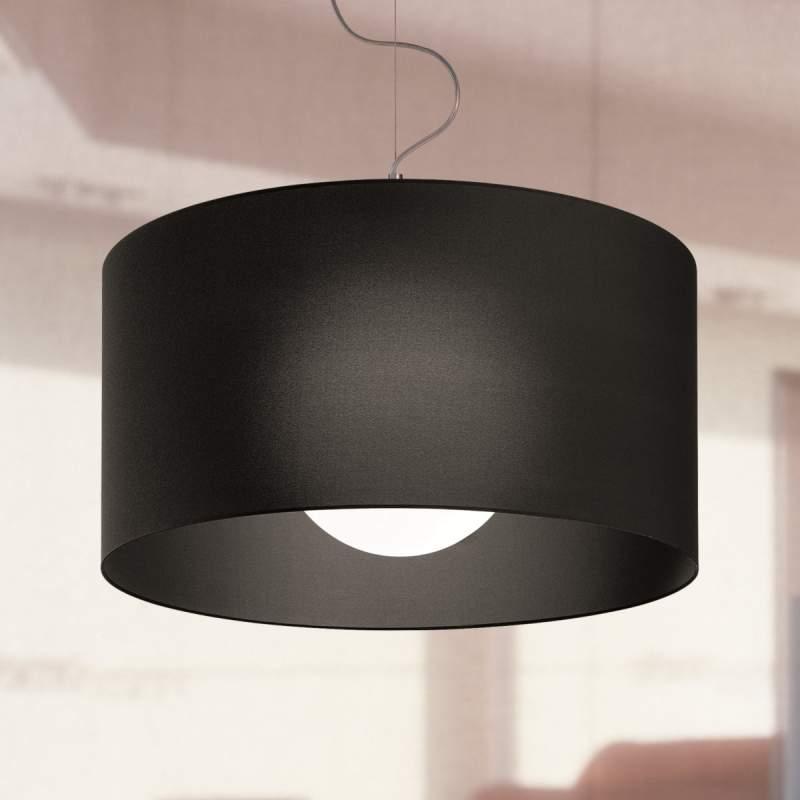 Fraaie hanglamp Fog SO 50, zwart