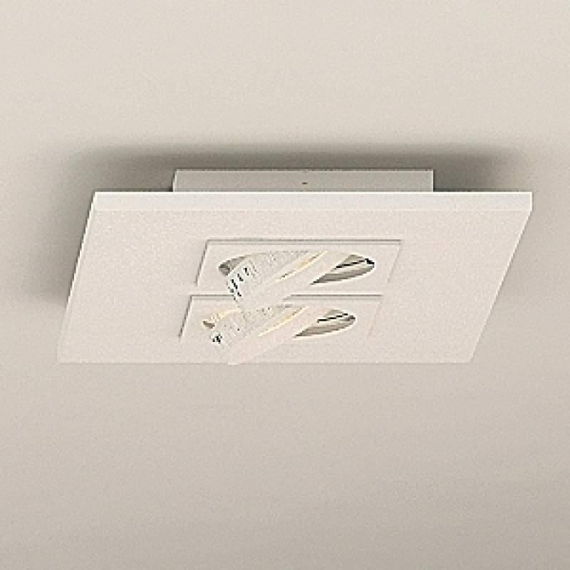 Led-plafondlamp Marc 2-lichts, zwenkbaar