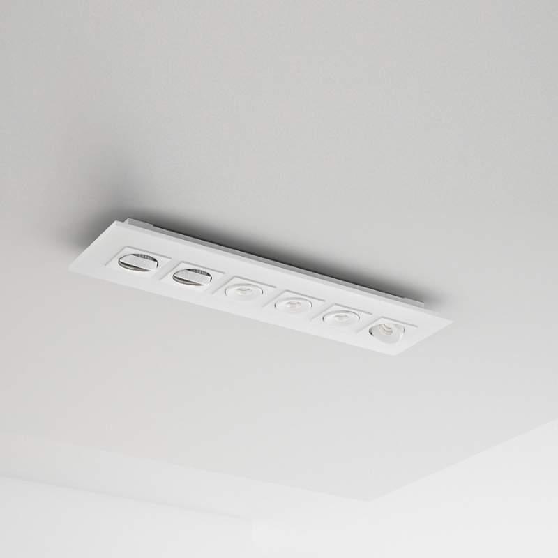 6-lichts led-plafondlamp Marc