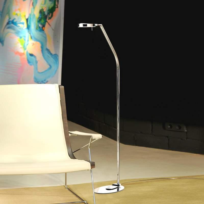 Moderne 3-led-vloerlamp 1-lichts, 124,3 cm