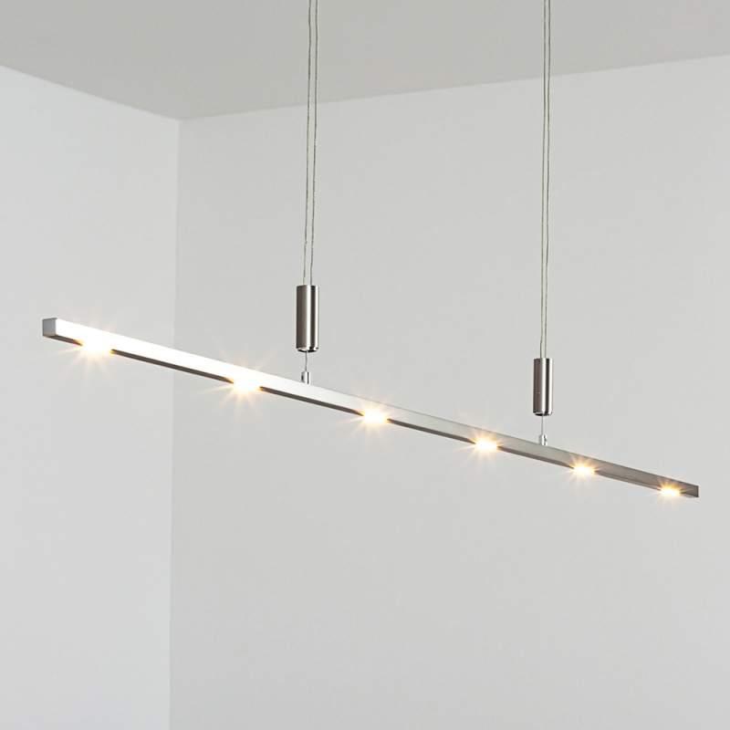 In hoogte verstelbare LED-hanglamp Tolu, 140 cm