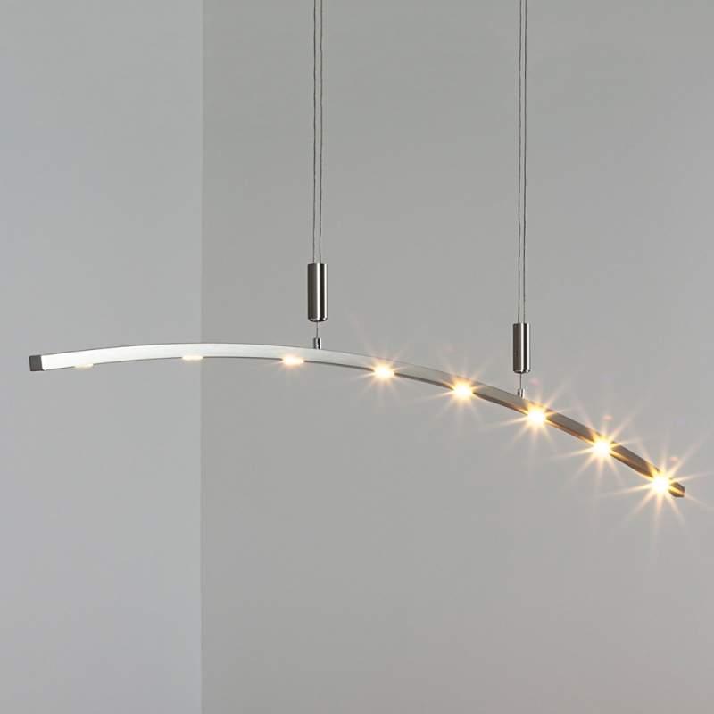 LED-hanglamp Falo, 160 cm, in hoogte verstelbaar