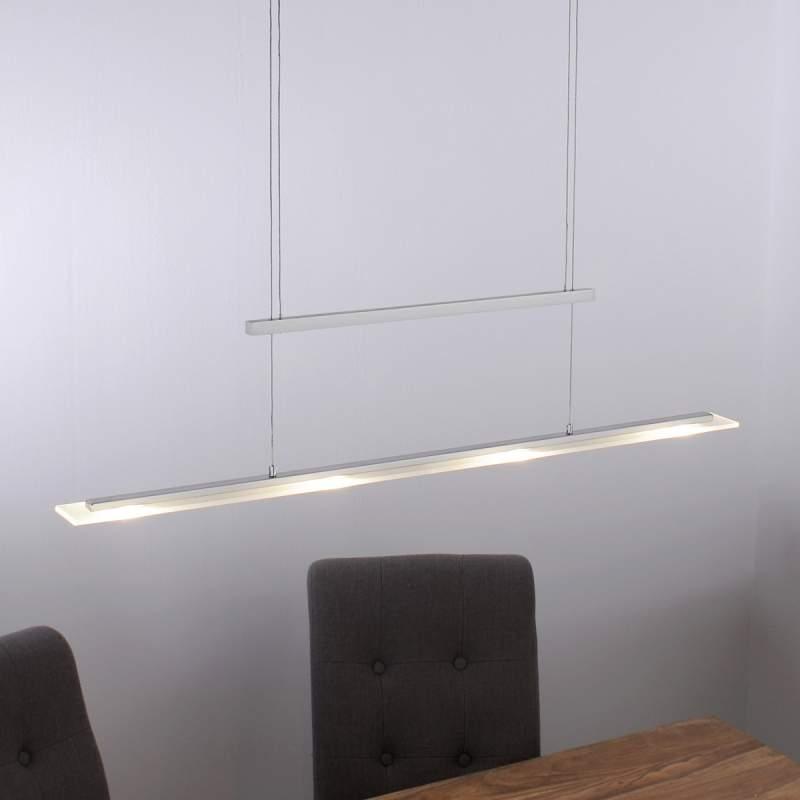 Smalle LED-hanglamp Sara, in hoogte verstelbaar
