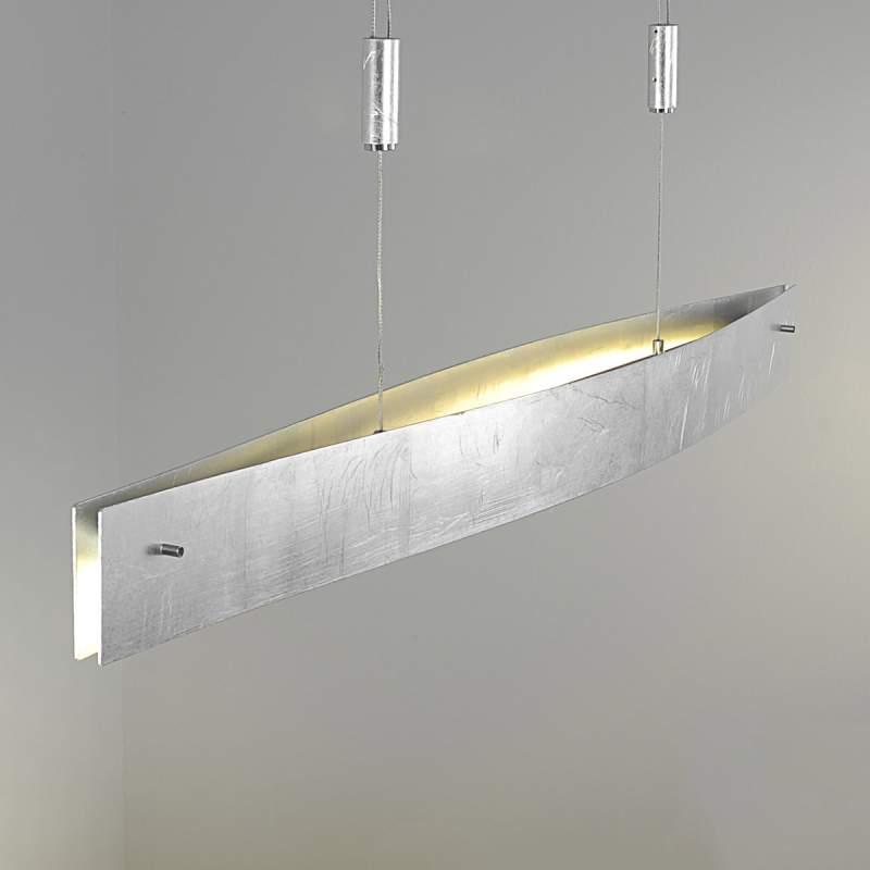 LED-hanglamp Malu, klassiek zilver