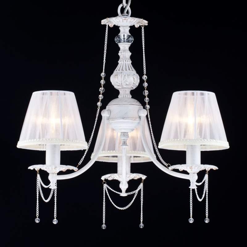 Mooi versierde hanglamp Lolita - 3-lichts