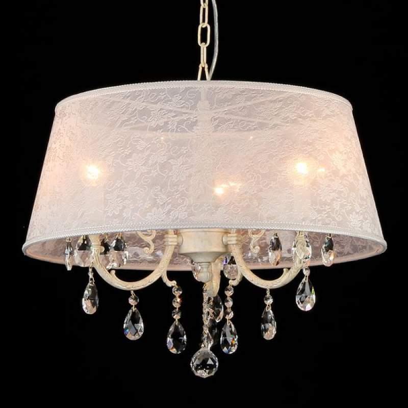 Filomena - hanglamp met edele kanten kap