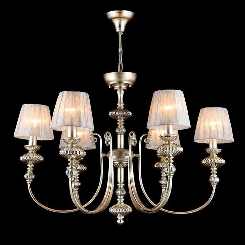 Serena Antique - kroonluchter in vintage goud
