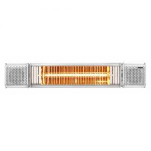 Euromac Terrasverwarmer Heat and Beat met speakers Euromac 334593