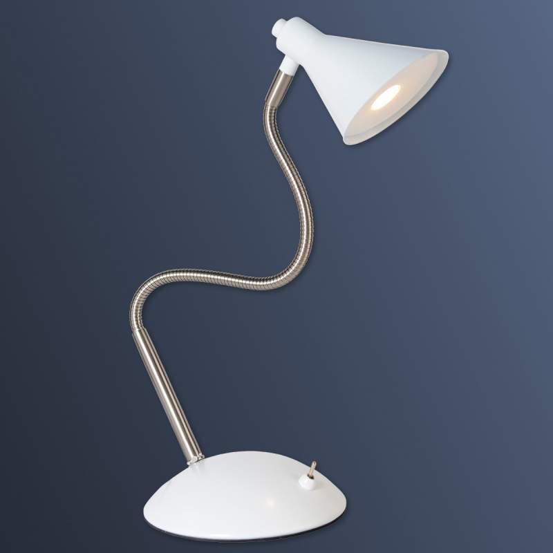 Milou - Led tafellamp in wit