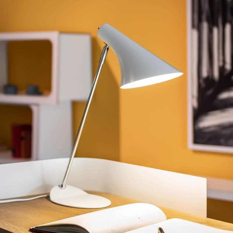 Trendy tafellamp Liam, wit