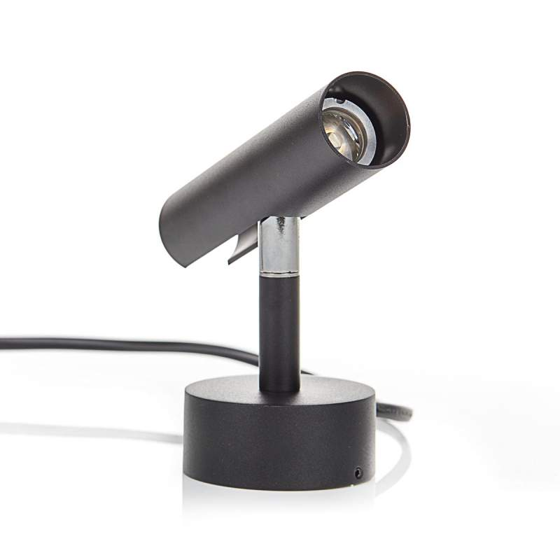 Fraaie led-wandlamp MIB 3, zwart