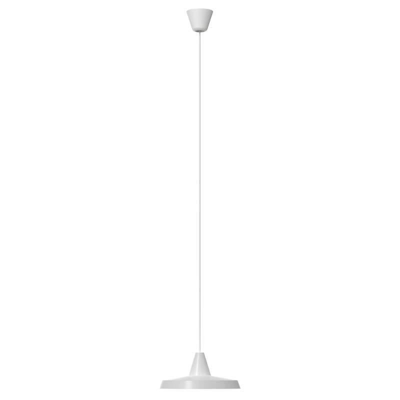 Platte hanglamp Anniversary, wit