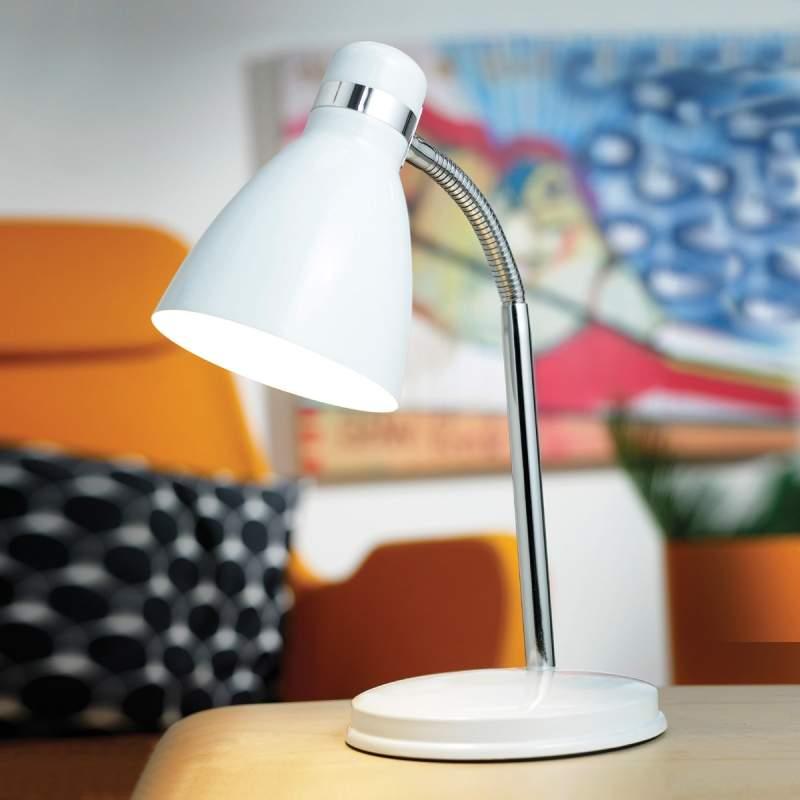 Moderne tafellamp CYCLONE, wit