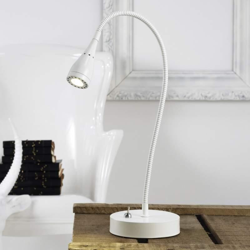 Mento - buigbare led-tafellamp, wit