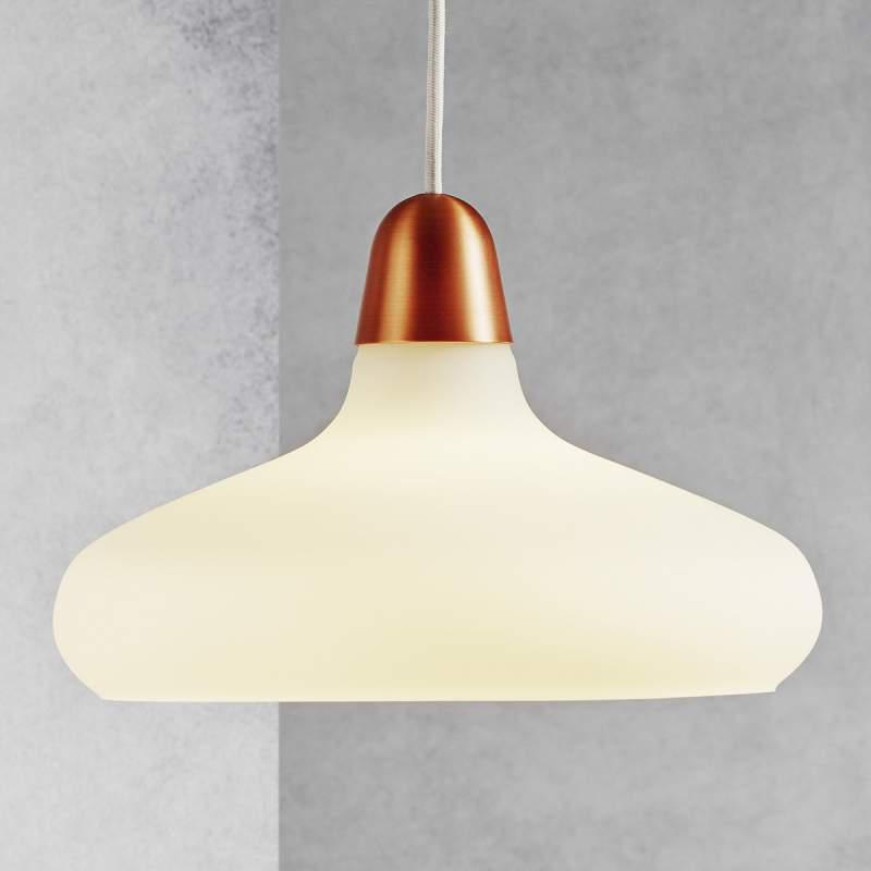 Glazen hanglamp Bloom, 29 cm