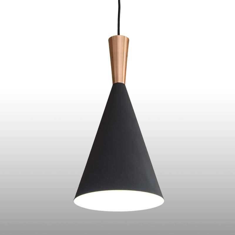 Tweekleurige hanglamp Matze