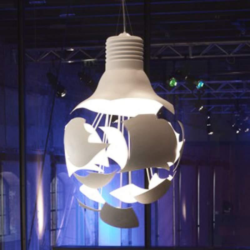 Unieke design-hanglamp Broken Bulb