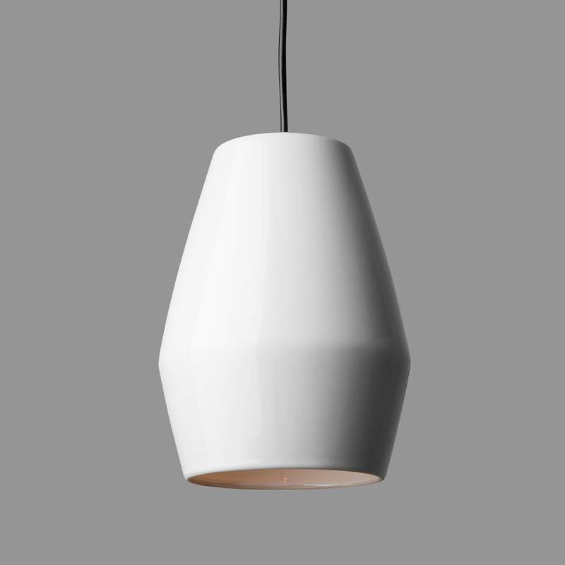 Witte hanglamp Bell