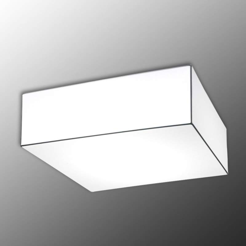 Hoekige plafondlamp Block