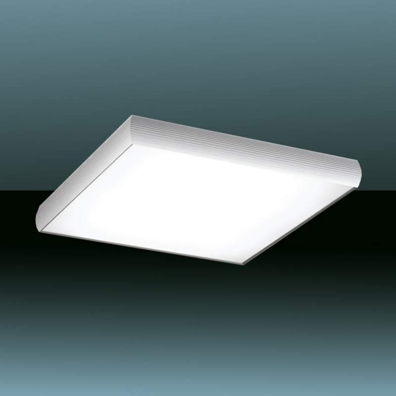 Strakke plafondlamp Alum