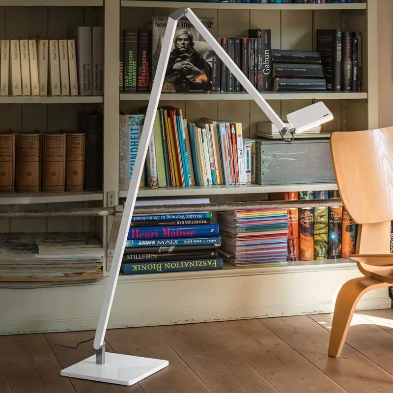 Nimbus Roxxane Home LED leeslampje, wit hoogglans