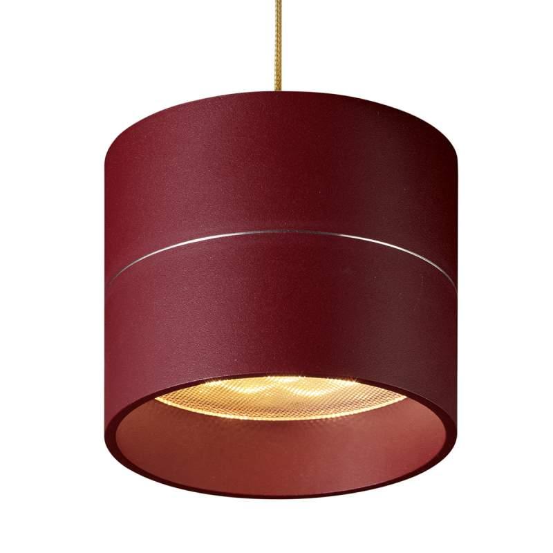 Hanglamp Tudor S 9,3 cm kaphoogte mat rood