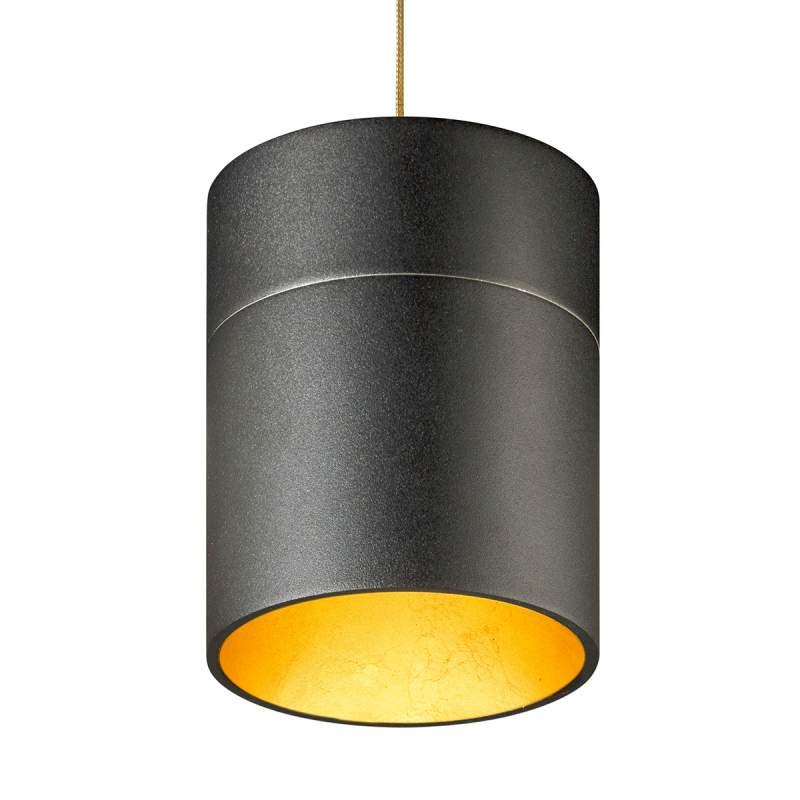 Kaphoogte 13,9 cm - hanglamp Tudor M bladgoud