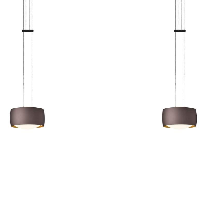 Grace - functionele LED hanglamp, met 2 lampjes