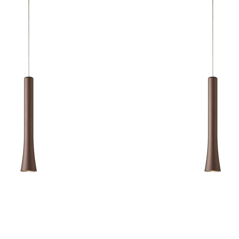 LED hanglamp Rio in elegante vorm met 2 lampjes
