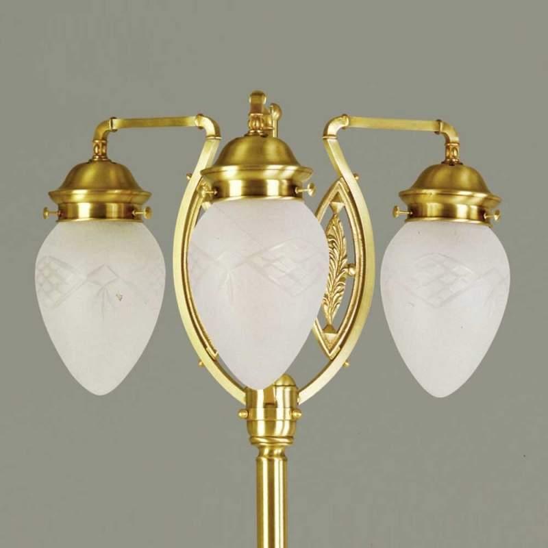 BUDAPEST 3-lichts vloerlamp