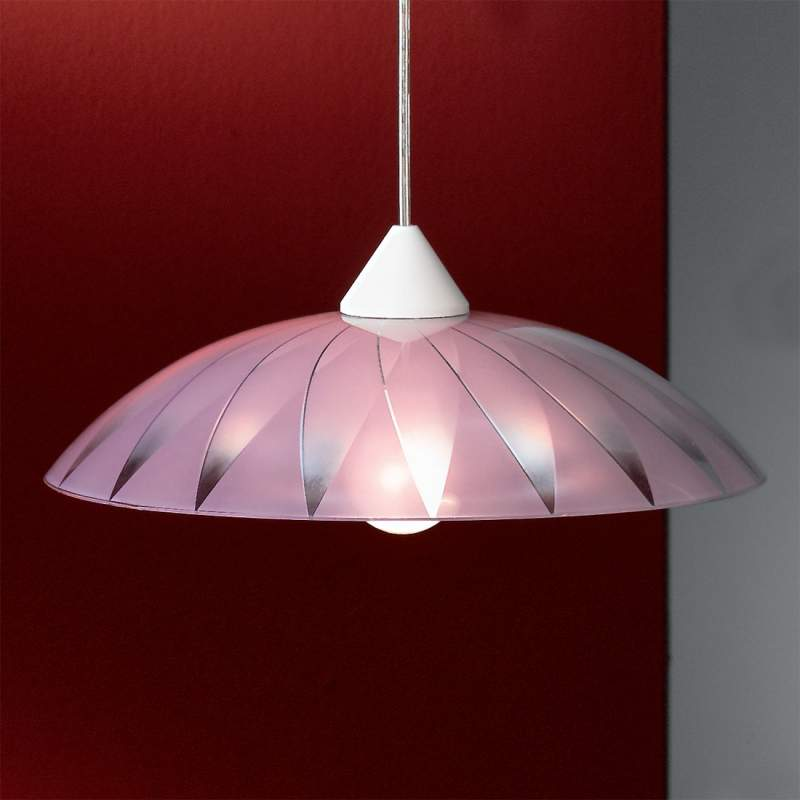 Decoratieve hanglamp Marelli, violet
