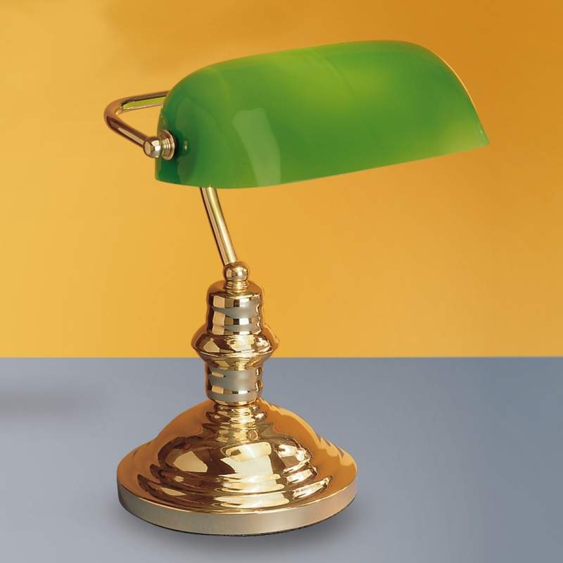 Mooie tafellamp Onella, groen
