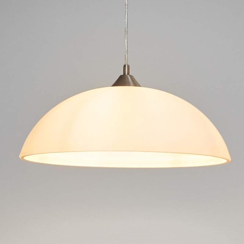 KINGA - hanglamp in klassieke vorm - nikkel