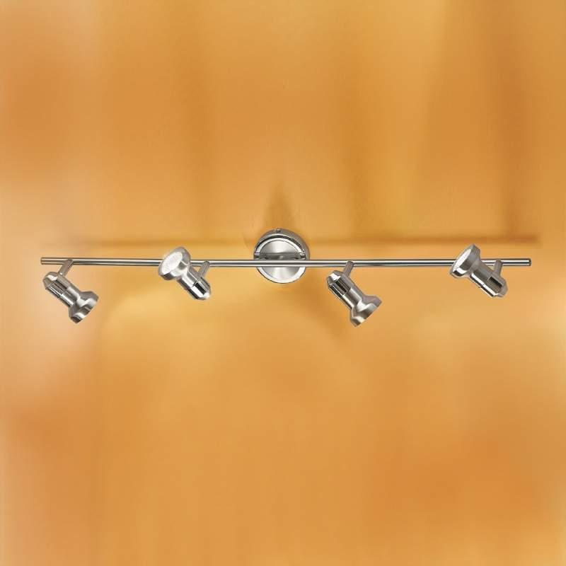 Glansrijke plafondlamp BARBORA - 4-lichts