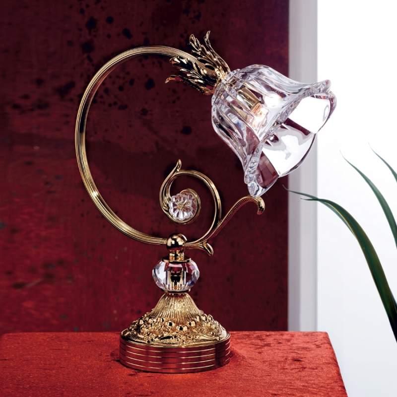 Romantisch aandoende tafellamp KAISA