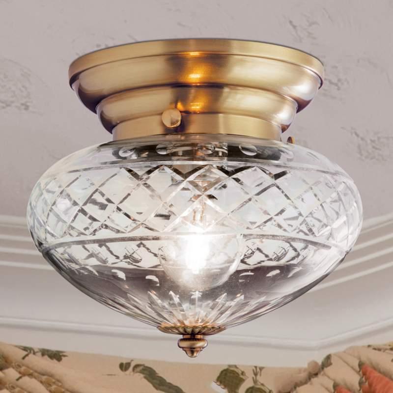 Lijvige plafondlamp ENNA, 1-lichts