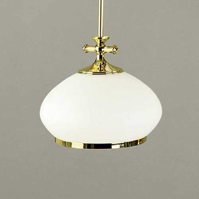 EMPIRA - kleine hanglamp m. opaalglas, diam. 24 cm