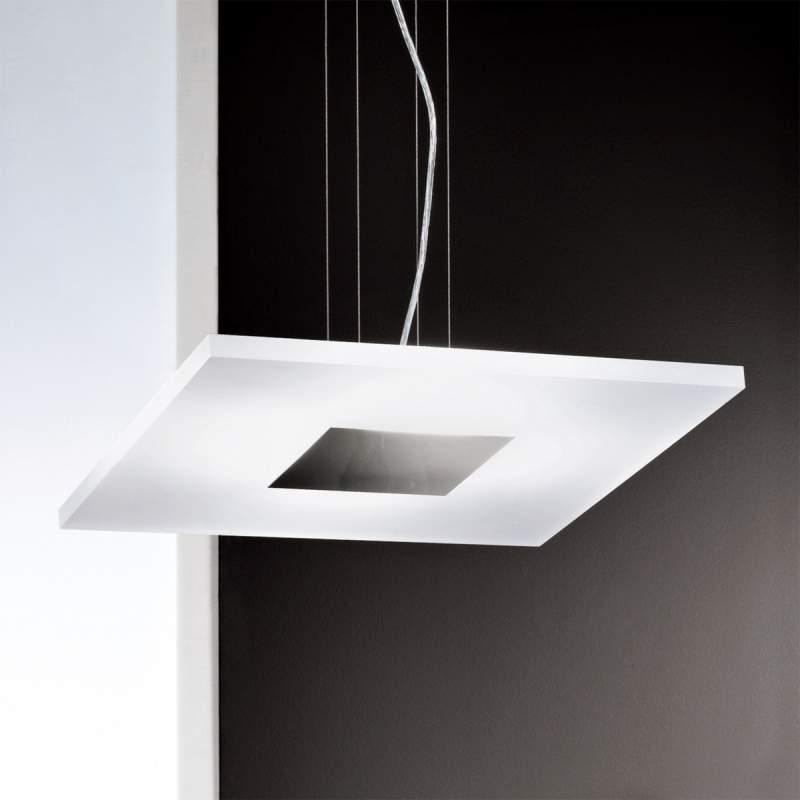 Led-hanglamp KATLEEN met glasplaat van acryl