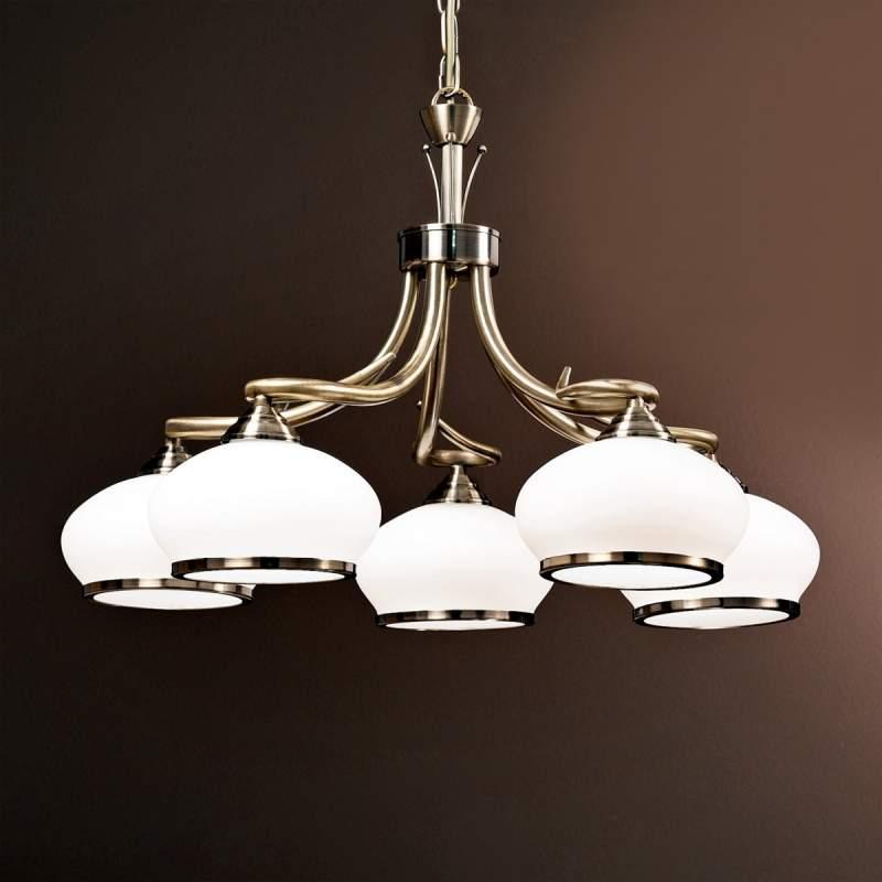 Aparte hanglamp Elvira, 5-lichts