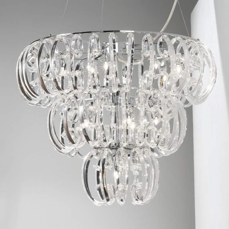 Glazen hanglamp Farina