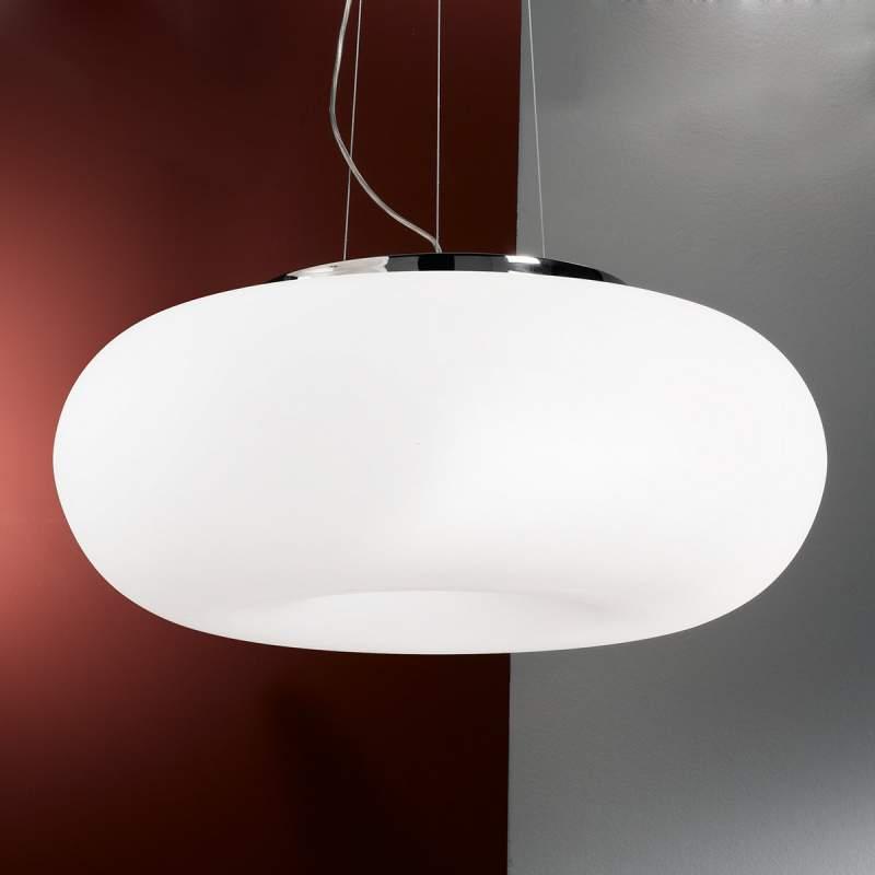 Hanglamp Philipp met mondgeblazen glas