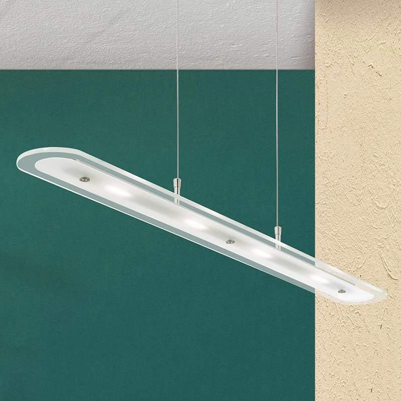 Hanglamp Tuana met LED-verlichting
