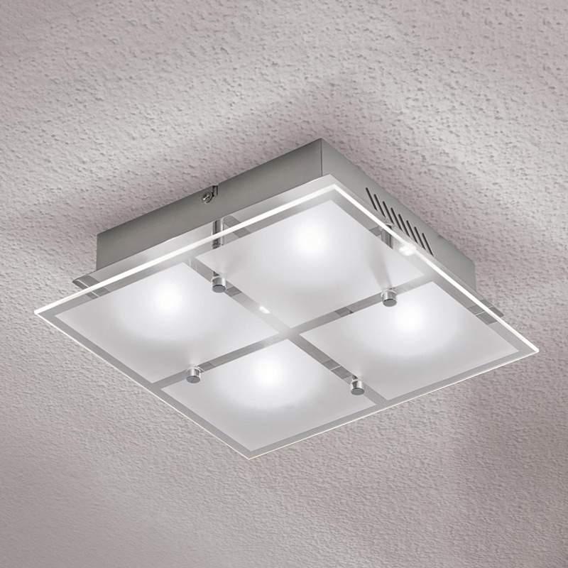 LED-plafondlamp Florien, 4-lichts