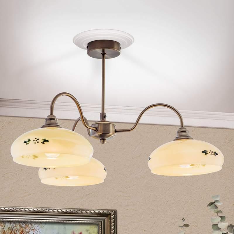 Drielamps plafondlamp Brianna